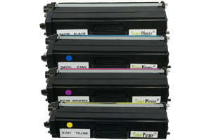 Brother TN-433 High Yield Black & Color Compatible Toner Combo Set