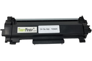 Brother TN-760 Compatible Toner Cartridge w/Chip HL-L2350 HL-L2370DW