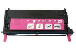 Xerox 113R00724 High Yield Magenta Compatible Toner for Phaser 6180