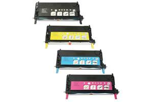 Xerox Phaser 6180 DN/N 4-Pack High Yield Black & Color Toner Combo Set