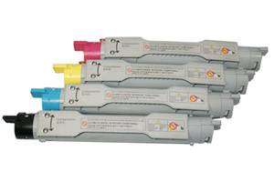 Xerox Black & Color Compatible Toner Cartridge Set for Phaser 6250