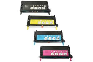 Xerox 6280 4-Pack High Yield Black & Color Remanufactured Toner Set