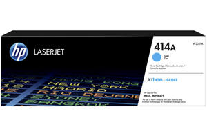 HP W2021A 414A Cyan OEM Genuine Toner Cartridge for M454dn M454dw