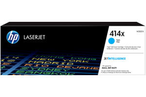 HP W2021X 414X Cyan OEM Genuine Toner Cartridge for M454dn M454dw