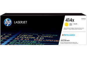 HP W2022X 414X Yellow OEM Genuine Toner Cartridge for M454dn M454dw