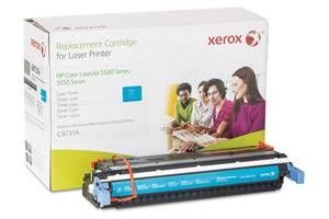 HP C9731A 645A Cyan Replacement Toner Cartridge LaserJet 5500 5550