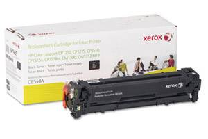 HP CB540A Replacement Black Toner Cartridge for LaserJet CP1215 CP1515