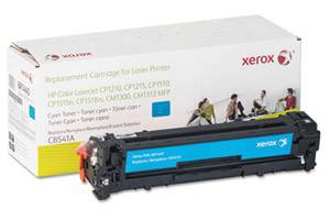 HP CB541A Replacement Cyan Toner Cartridge for LaserJet CP1215 CP1515