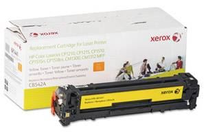 HP CB542A Yellow Replacement Toner Cartridge LaserJet CP1215 CP1515