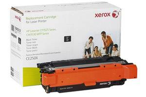 HP CE250X Black Replacement Toner Cartridge for Laserjet CM3530 CP3525