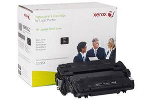 HP CE255X Hi-yield Replacement Toner Cartridge LaserJet P3010 P3015