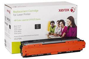 HP CE270A Black Replacement Toner Cartridge for Laserjet Pro CP5525