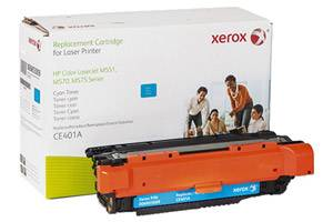 HP CE401A 507A Cyan Replacement Toner Cartridge LaserJet M551 M575