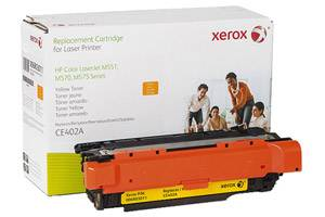 HP CE402A 507A Yellow Replacement Toner Cartridge LaserJet M551 M575
