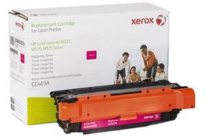HP CE403A 507A Magenta Replacement Toner Cartridge LaserJet M551 M570