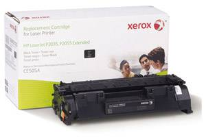 HP CE505A Extended Yield Replacement Toner Cartridge for P2035 P2055