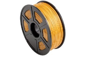 PLA Gold Filament 1.75mm 1kg Supply Spool for 3D Printer