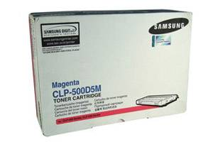 Samsung CLP-500D5M Magenta [OEM] Genuine Toner Cartridge CLP-500 CLP-550 Printer