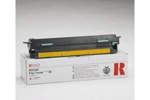 Ricoh 889604 Type 30 Original Toner Cartridge Fax 2500L 3000L 3500L 4500L