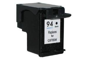 HP C8765WN (#94) Black Remanufactured Ink Cartridge