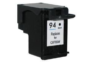 HP C8765WN (#94) Black Remanufactured Ink Cartridge