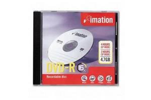 Imation 17338 16X 4.7GB DVD-R 1PK Jewel Case