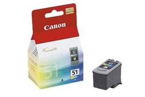 Canon CL-51 OEM Genuine High Yield Color Ink Tank for Pixma iP6210D iP6320D MP460