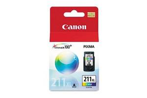 Canon CL-211XL OEM Genuine High Yield Color Ink Cartridge