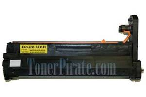 Okidata 42126601 Remanufactured Yellow Drum Unit for C5100N C5200N C5300N C5400