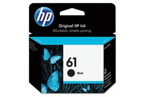 HP CH561WN (#61) Black OEM Genuine Ink Cartridge for DeskJet 1050 2050