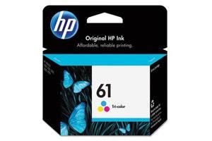 HP CH562WN (#61) Color OEM Genuine Ink Cartridge