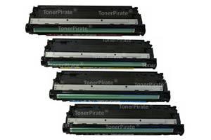 HP CE740A/41A/42A/43A Black Cyan Yellow Magenta Color Set - CP5225 Printer