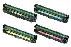 HP CE270A/71A/72A/73A Black Cyan Yellow Magenta Color Set - CP5525 Printer