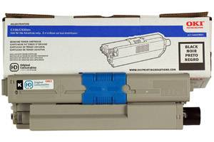 Okidata 44469801 [OEM] Genuine Black Type C17 Toner for C330dn C530dn MC361 MC561