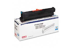 Okidata 42918103 Cyan Type C7 [OEM] Genuine Drum Unit for C9600 C9650 C9800 Printers