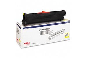 Okidata 42918101 Yellow Type C7 [OEM] Genuine Drum Unit for C9600 C9650 C9800 Printers