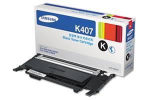 Samsung CLT-K407S [OEM] Genuine Black Toner Cartridge CLP-320N CLP-325W CLX-3185FW