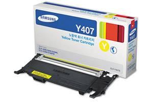 Samsung CLT-Y407S [OEM] Genuine Yellow Toner Cartridge CLP-320N CLP-325W CLX-3185FW