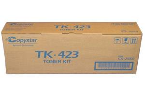 Copystar TK-423 [OEM] Genuine Black Toner Cartridge Kit for CS-2550