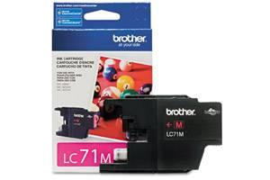 Brother LC71M OEM Genuine Magenta Ink Cartridge MFC-J280W J425W J430W J435W J625DW