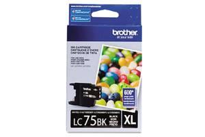 Brother LC75BK OEM Genuine Black Ink Cartridge for MFC-J280W J425W J6510DW J6910DW
