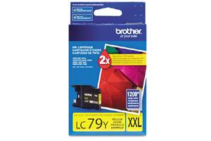 Brother LC79Y OEM Genuine Yellow Ink Cartridge MFC-J5910DW J6510DW J6710DW J6910DW
