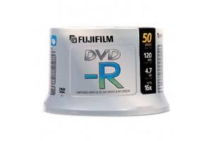 Fuji 15683730 4.7GB White Inkjet Hub Printable DVD-R 50PK Spindle