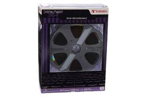 Verbatim 94695 4.7GB Digital Movie DVD+R 5PK Jewel Case