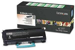 Lexmark X264A11G [OEM] Genuine Toner Cartridge for X264 X363 X364 Laser Printer
