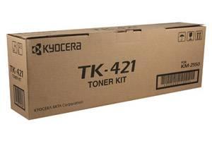 Kyocera Mita 370AR011 TK-421 [OEM] Genuine Laser Toner Cartridge for KM-2550 Printer