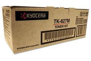 Kyocera Mita TK-827M Original Magenta Toner Cartridge KM-C2520 C3225 C3232
