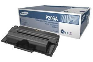 Samsung MLT-P206A [OEM] Genuine Dual Pack Toner Cartridge for SCX-5935 SCX-5935FN Printer