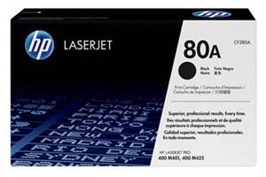 HP CF280A 80A [OEM] Genuine Toner Cartridge for LaserJet M425dn M401dw