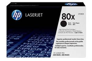 HP CF280X 80X [OEM] Genuine High Yield Toner for LaserJet M425 M401